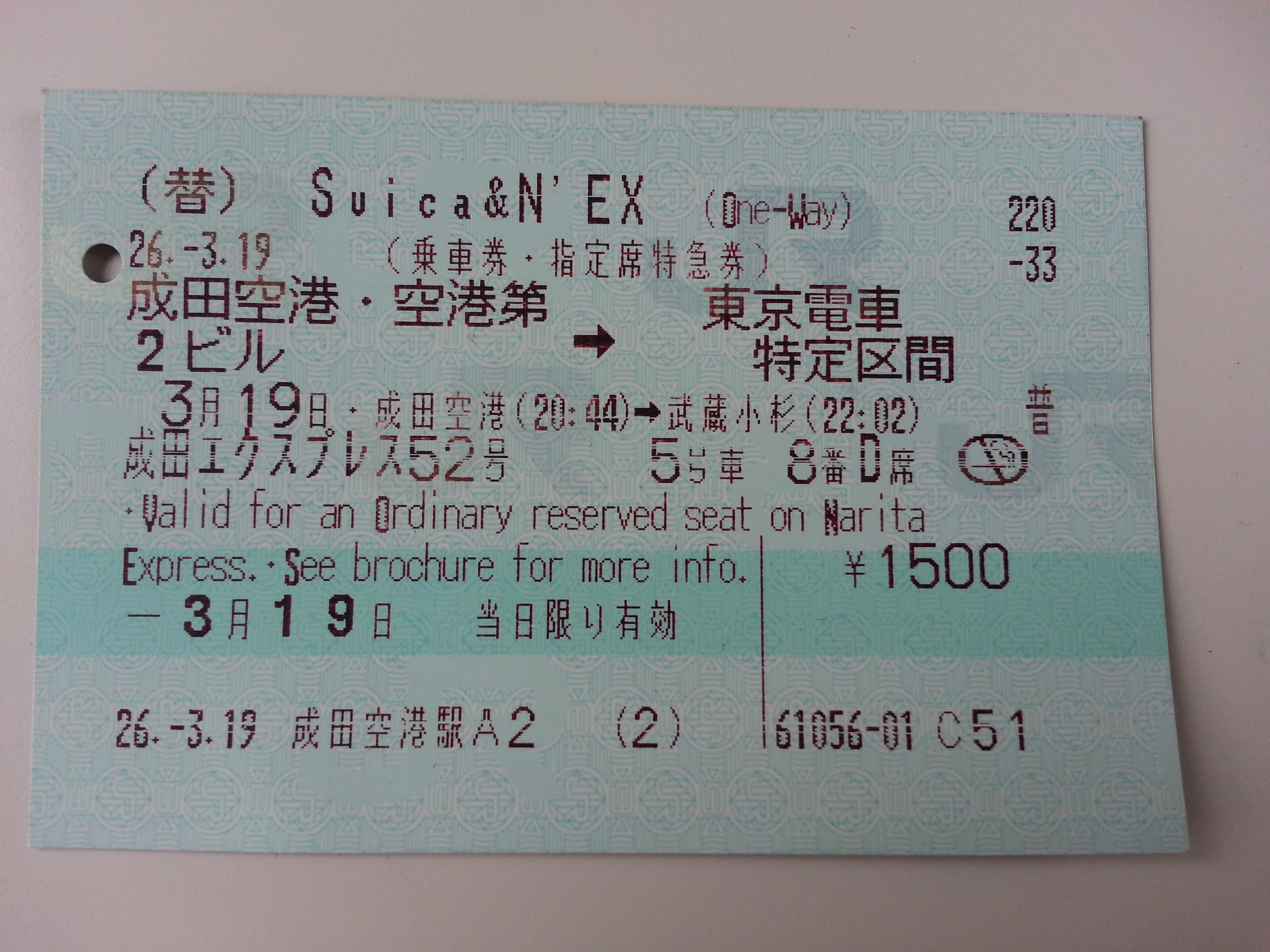 Cudzinec, ktorý neovláda japončinu, z toho lístka veľa nevyčíta...