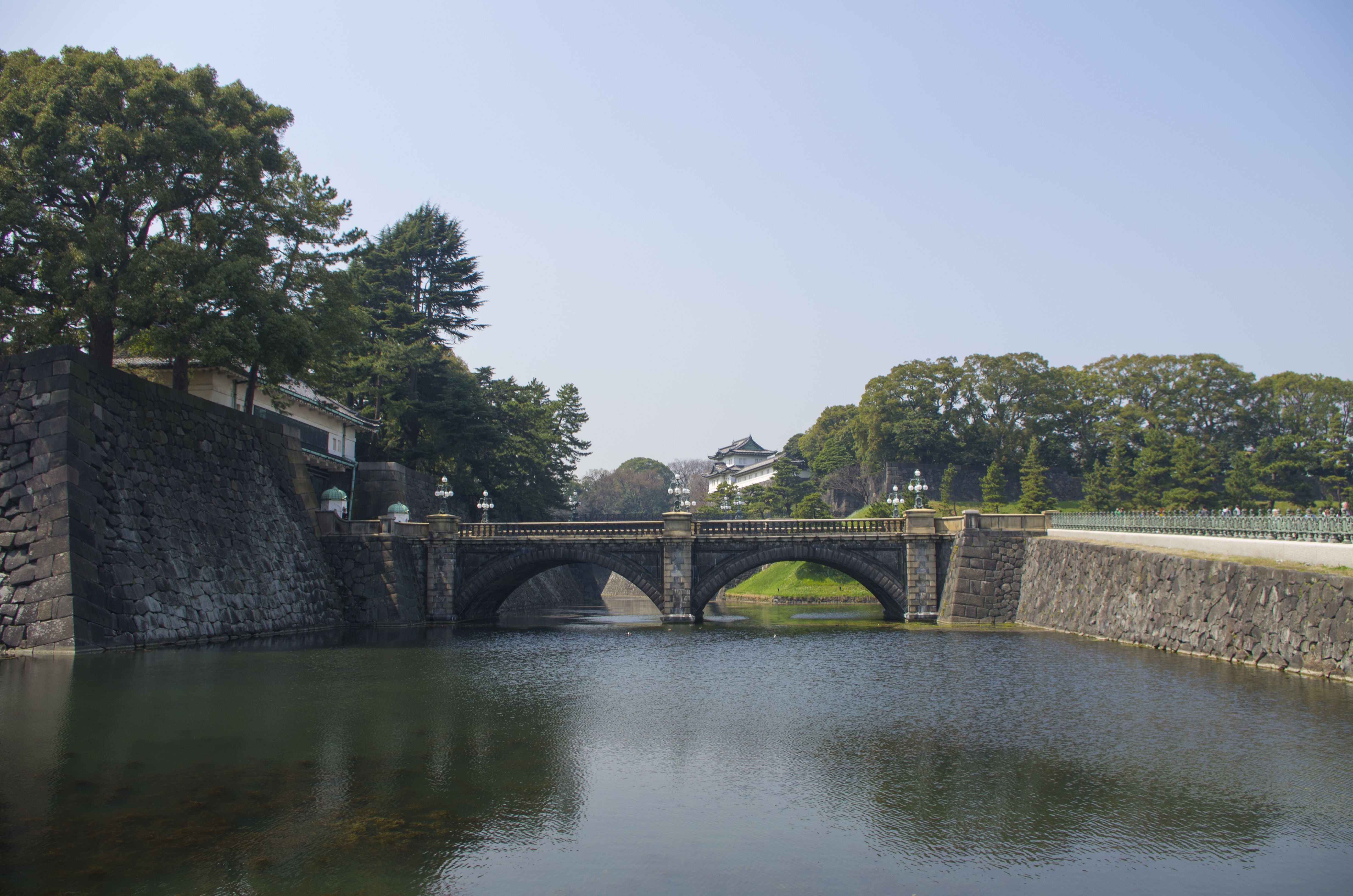 Famous bridge of Imperial Palace